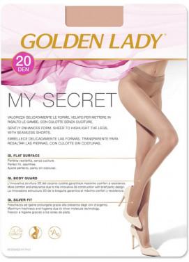 Pančuchové nohavice Golden Lady MY SECRET 20den