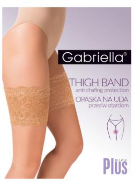 Krajkový pás na stehná Gabriella