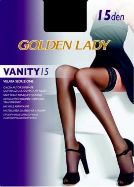 Samodržiace pančuchy Golden Lady VANITY 15den