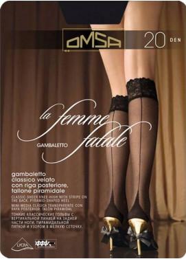 Podkolienky Omsa LA FEMME FATALE 20den