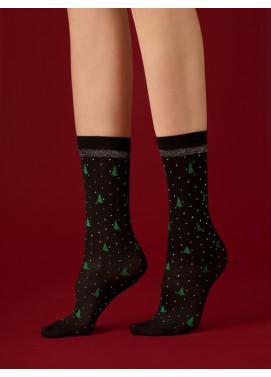Ponožky Fiore darčekové balenie HO HO HO