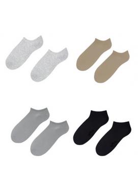 Fibrochem hladké ponožky krátke LASTI 5párov
