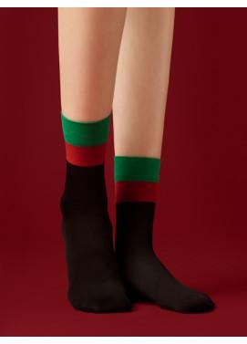 Ponožky Fiore darčekové balenie LET IT SNOW