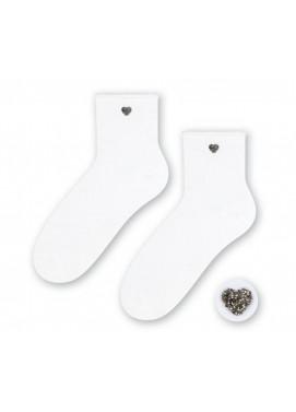 Steven ponožky s aplikáciou srdce