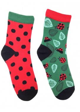 Skarpol detské ponožky lienka