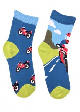 Skarpol detské ponožky motorkár