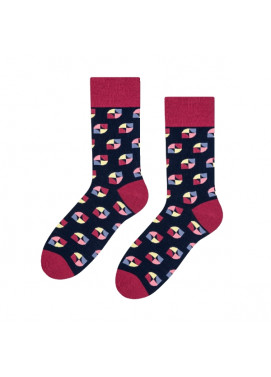 More fashion ponožky ABSTRAKT