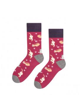 More fashion ponožky MŇAUKÁČKY