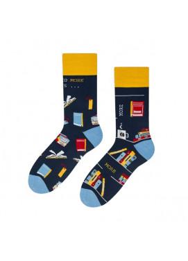 More fashion ponožky KNIHOMOĽ