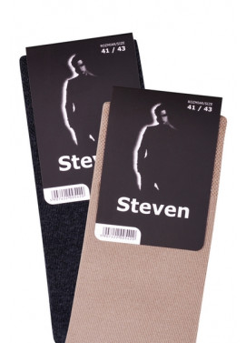 Steven pánske hladké ponožky