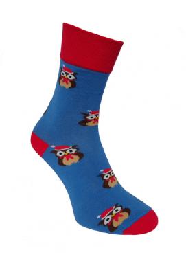 Foxysoxy ponožky VIANOČNÉ SOVY