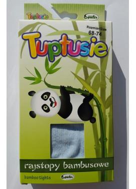 SYNTEX detské bambusové pančuchové nohavice 104/110