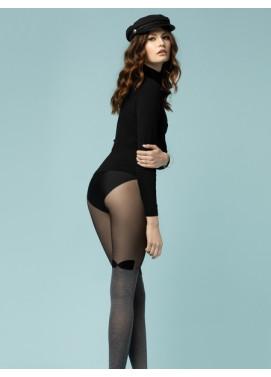 Vzorované pančuchové nohavice Fiore BONBON 30den