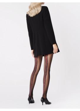 Vzorované pančuchové nohavice Fiore CORALLO 20den