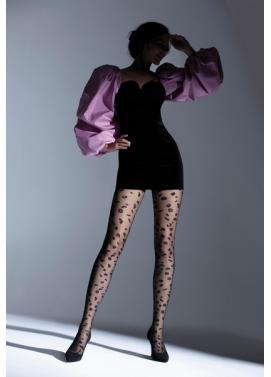 Vzorované pančuchové nohavice Knittex PANTHER 20den