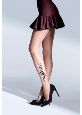 Vzorované pančuchové nohavice Knittex SHINE 20den